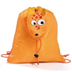 MOCHILA PLEGABLE ANIMALS NARANJA