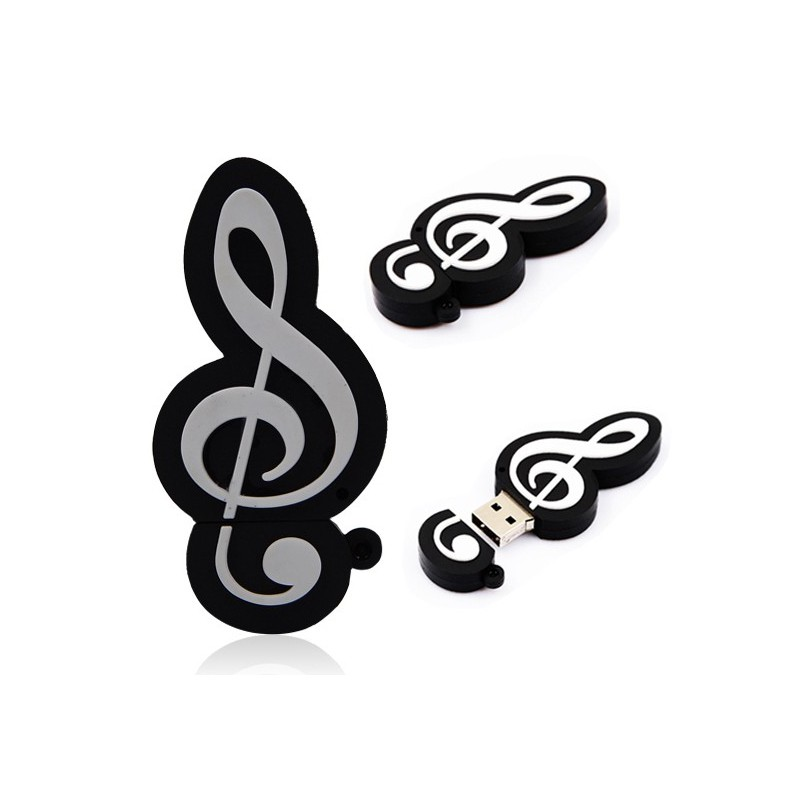 MEMORIA USB NOTA MUSICAL 4 GB