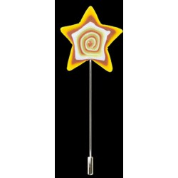 Alfiler Novia Estrella Pasta