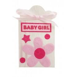 LOTE DE 29 CAJITAS BABY GIRL ROSA