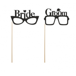 "Set de 2 gafas ""Bride"",..."
