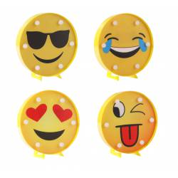 LÁMPARA LUCES EMOTICONOS