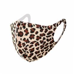 mascarillas diseño leopardo