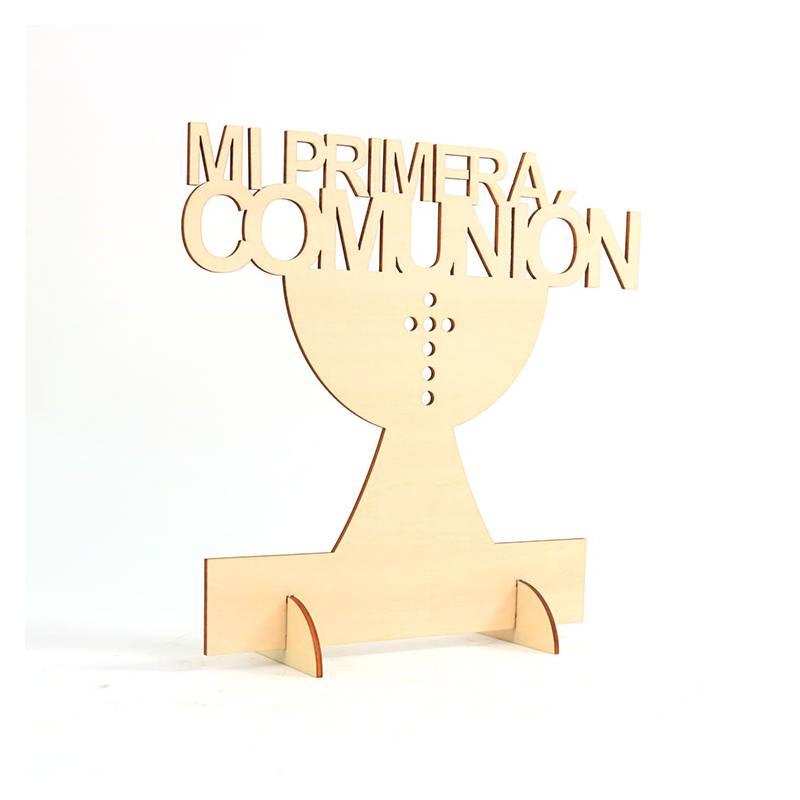 Expositores, Carteles Letreros de Primera Comunión 1ª Madera