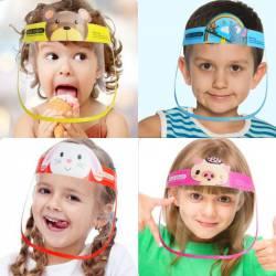 pantalla máscara infantil para niños protección covid virus españa