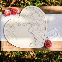 libro firmas bodas corazón corazones original originales